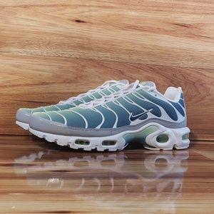 New Nike Air Max Plus TN Green Teal Blue White
